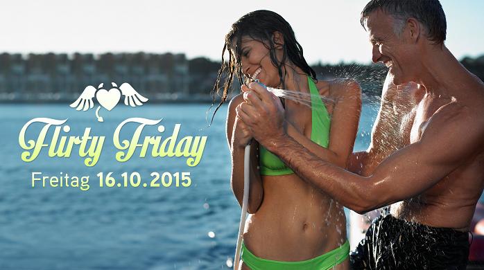 Garantiert ohne Fakes – Es ist wieder so weit – Flirty Friday am 16.10.2015!