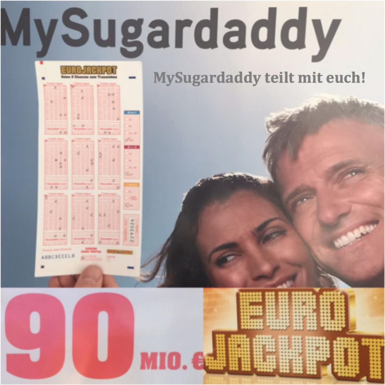 EuroJackpot bei 90 Millionen Euro – MySugardaddy teilt mit Euch!